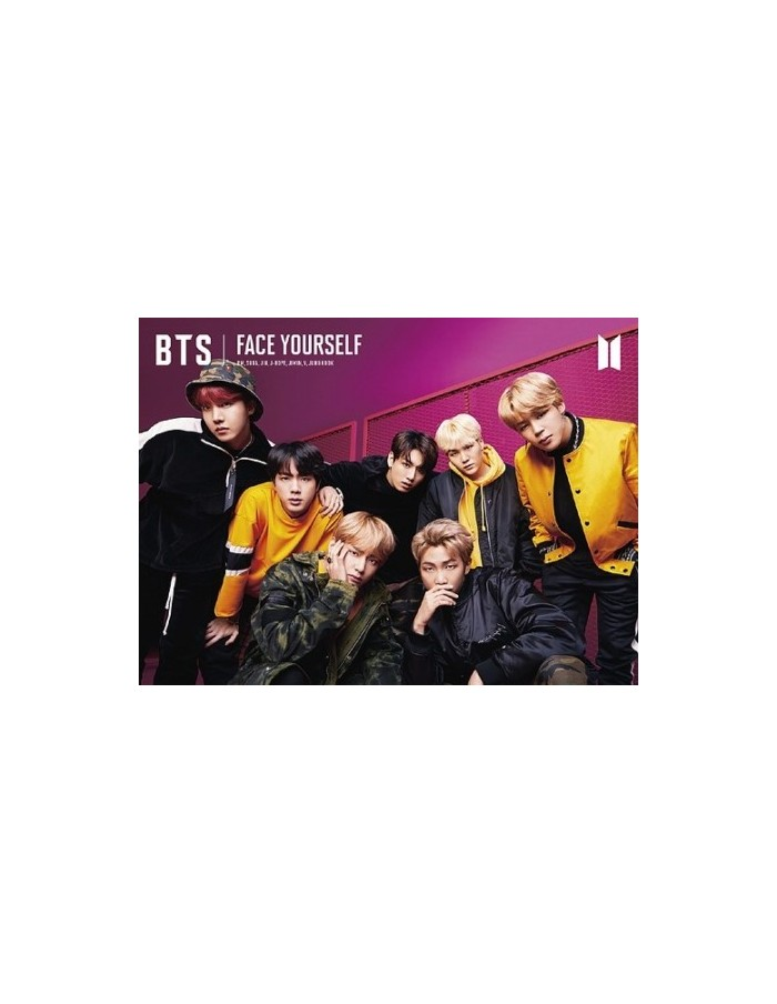 [Japanese Limited Edition] BTS - FACE YOURSELF Ver.B CD + DVD