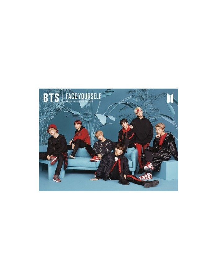[Japanese Limited Edition] BTS - FACE YOURSELF Ver.C CD + Photobook