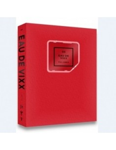 VIXX 3th KINO Album - EAU DE VIXX(Red Ver) CD [ Pre -Order]