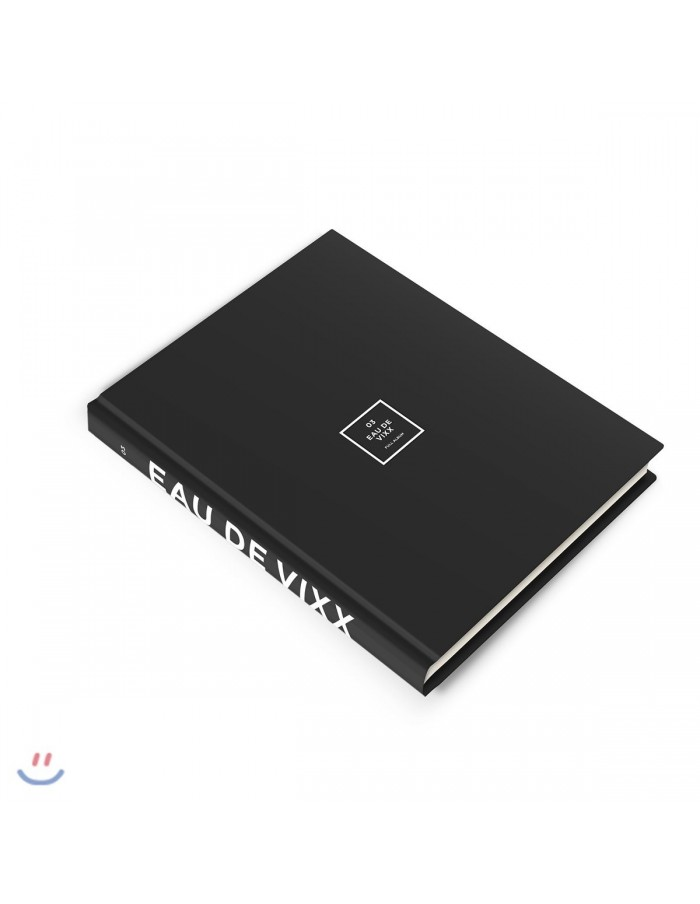 VIXX 3rd Album - EAU DE VIXX(Black ver) CD + Poster