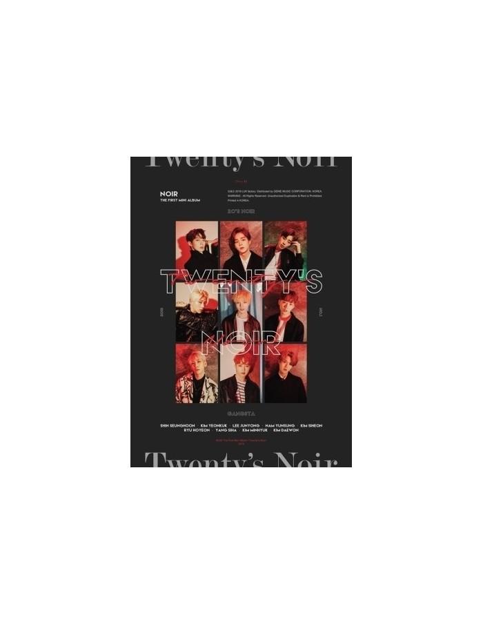 NOIR 1st Mini Album - Twenty's Noir CD