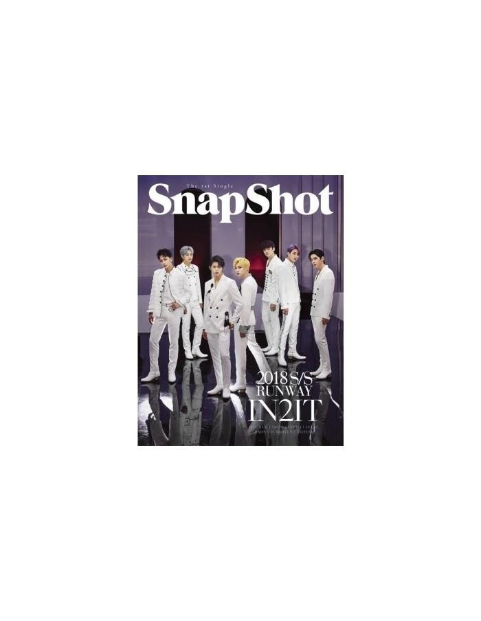 IN2IT 1st Single Album - SnapShot (Runway Ver.) CD + Poster