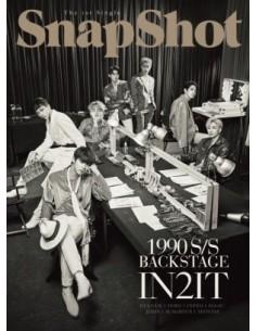 IN2IT 1st Single Album - SnapShot (Backstage Ver.) CD + Poster