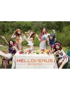 HELLOVENUS 5th Mini Album 난 예술이야 CD + Poster