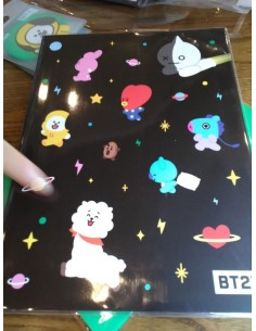 [BT21] Monopoly Collaboration Goods - Schooling Note L size