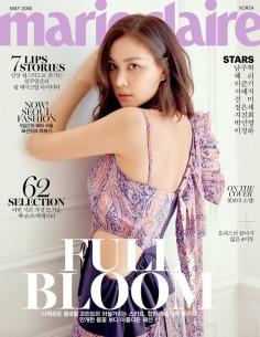 [Magazine] Marie Claire 2018-5 Nam Ju Huk, Lee Jun Gi, Sun Mi(Random Cover)