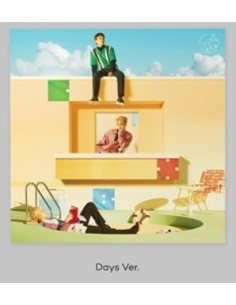 [Days Version] EXO - CBX 2nd Mini Album - Blooming Days CD + Poster