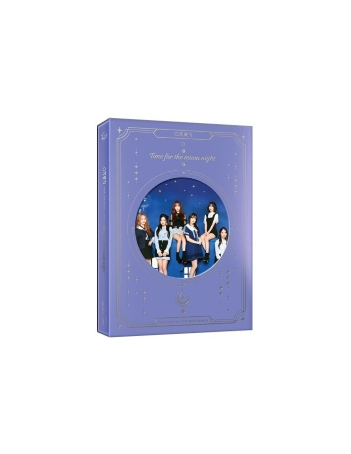 GFRIEND 6th Mini Album - Time For The Moon Night (Time Ver.) CD + Poster