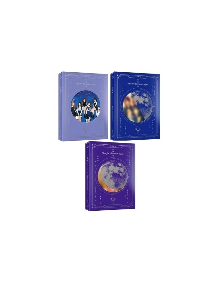 GFRIEND 6th Mini Album - Time For The Moon Night (Night Ver.) CD + Poster