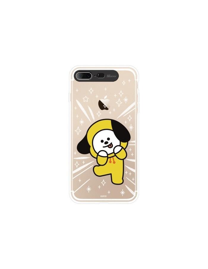 [BT21] Clear Light Up Case iPhone7/8 PLUS (SOFT)