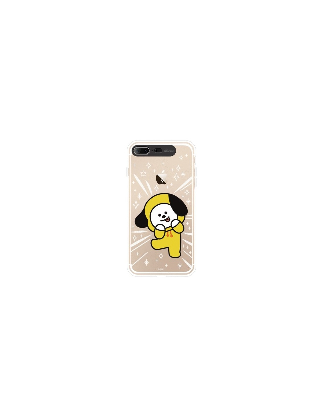 new concept 4c15d ec297 [BT21] Clear Light Up Case iPhone7+/8+ (SOFT)