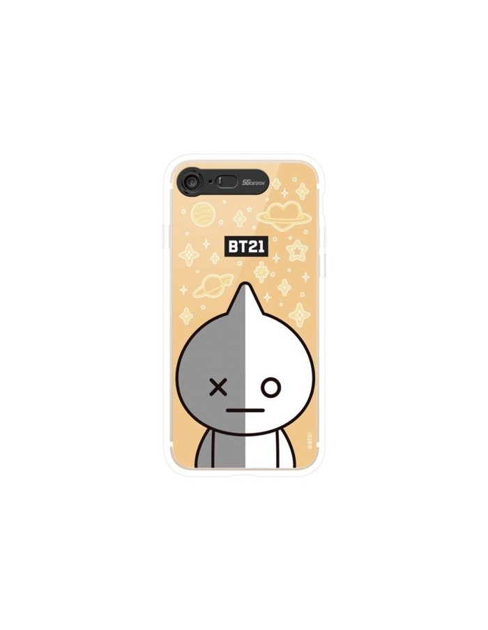 [BT21] Clear Light Up Case iPhone7/8 (SOFT)