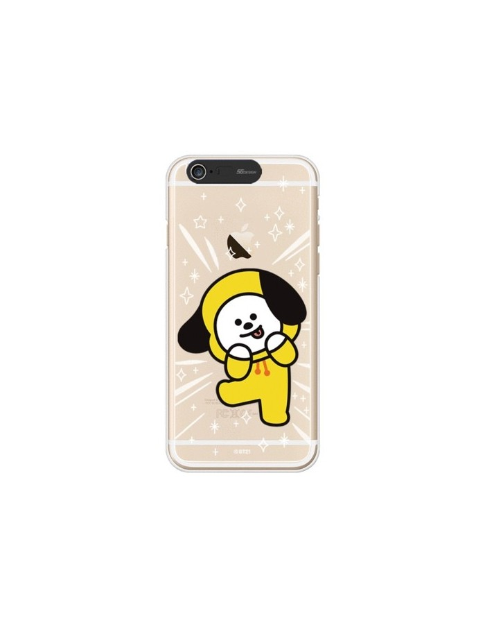 [BT21] Clear Light Up Case iPhone6/6S (Soft)
