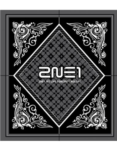 2NE1 First Live Concert NOLZA CD + Poster
