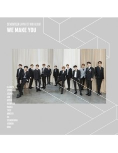 [Japanese Edition] SEVENTEEN - We Make You (HMV, 1st Limited Edition) CD + Blu-ray