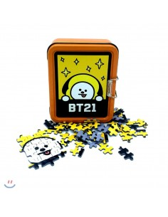 [BT21] 108Piece Tin Case Puzzle