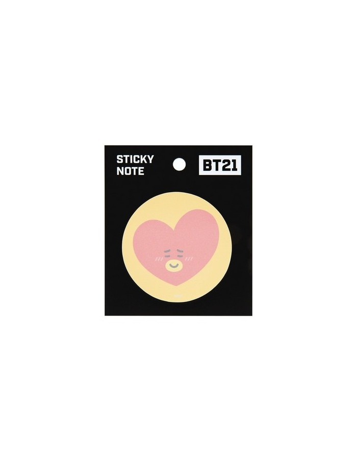 [BT21] BTS Monopoly Collaboration Goods - Sticky Note (Circle Type)