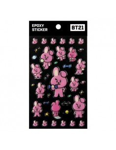 [BT21] BTS Monopoly Collaboration Goods - Epoxy Sticker