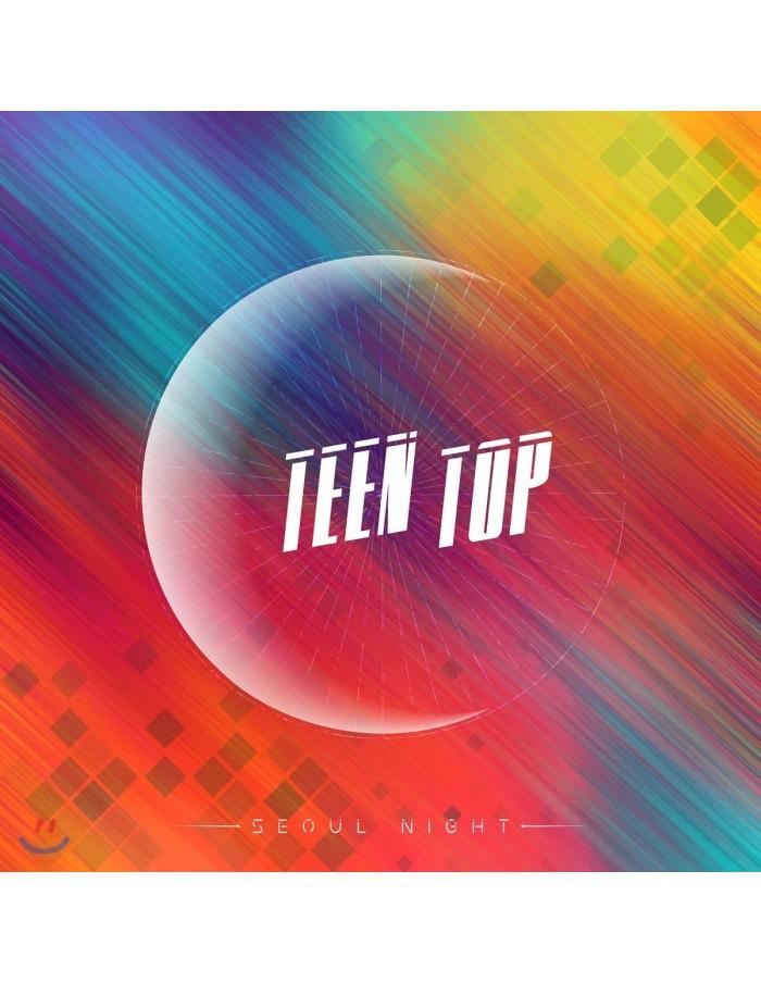 TEEN TOP 8th Mini Album - Seoul Night(A ver) CD + Poster