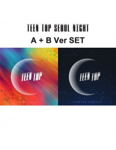 [SET] TEEN TOP 8th Mini Album - Seoul Night(SET ver) CD + Poster
