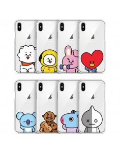 [BT21] Clear Jelly Case Basic