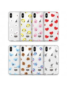 [BT21] Clear Jelly Case Pattern