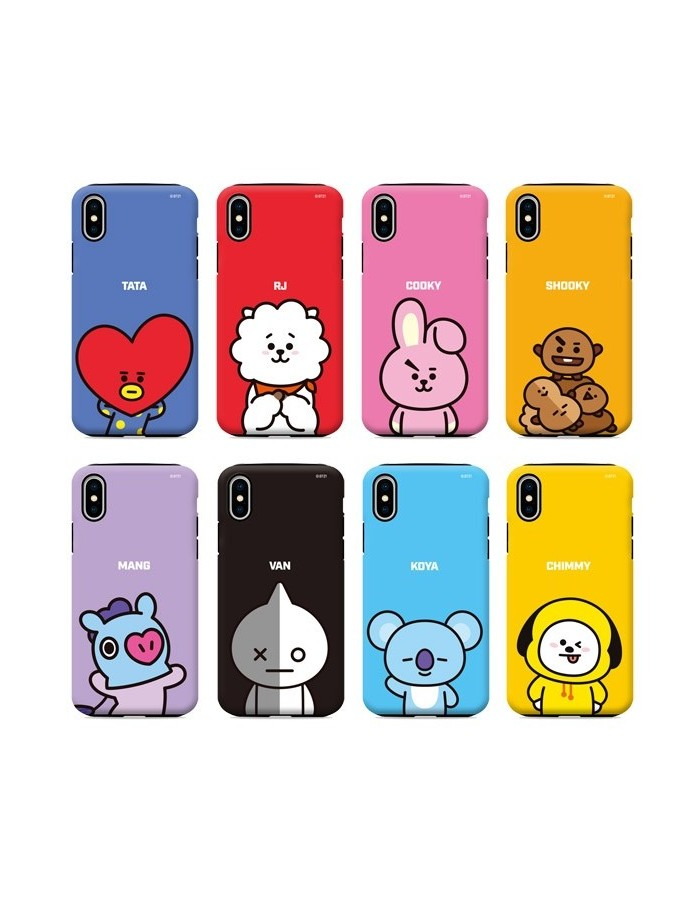 [BT21] Guard Up Plus Case Basic