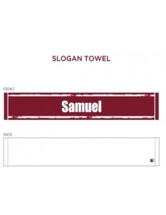 Samuel Official Slogan Towel
