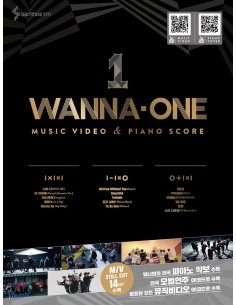 [Pre-Order] WANNA-ONE MUSIC VIDEO & PIANO SCORE