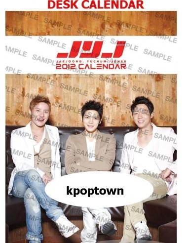 2012 JYJ C-JES Official Calendar - Desk Calendar