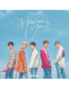 N.Flying 4th Mini Album -  How Are You? CD + Poster