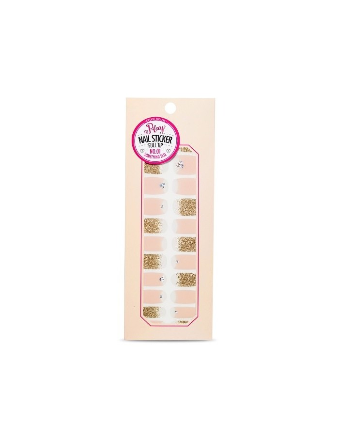 [ETUDE HOUSE] Play Nail Sticker Full Tip (6Kinds)