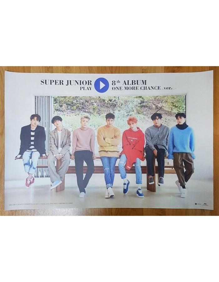 [Poster] Super Junior 8th Album - PLAY [Black Suit Ver.] Poster