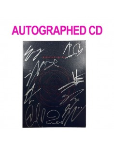 [AUTOGRAPHED CD] UP10TION 1st ALBUM - Invitation ( Red Ver ) CD