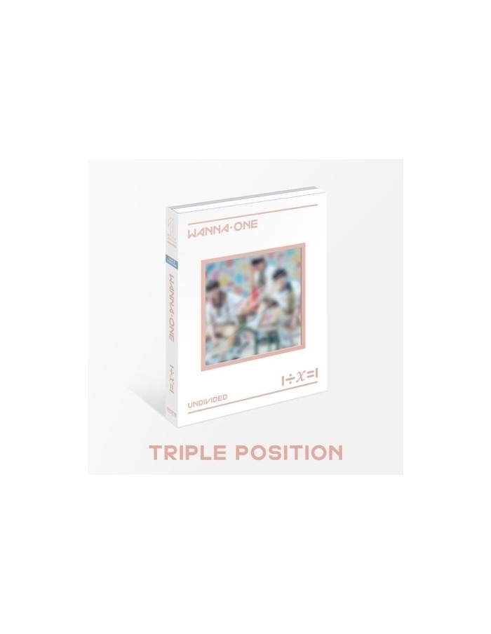 WANNA ONE Special Album (UNDIVIDED) [Wanna One Ver] CD+ Poster