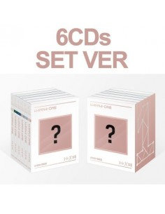 [SET] WANNA ONE Special Album (UNDIVIDED) [SET Ver] 6CD+ 6Poster