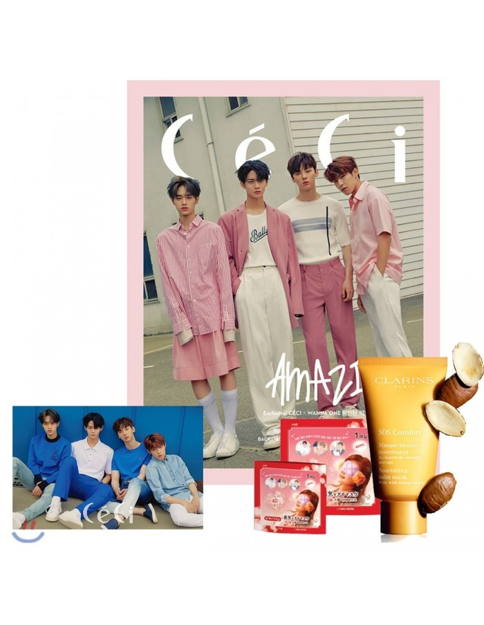 Magazine CeCi 2018-6 Wanna One Type.B with Pre-order Benefits + Poster