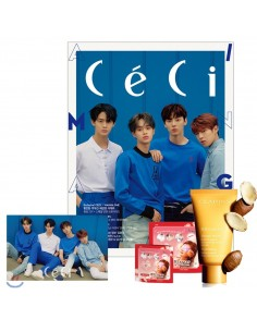 Magazine CeCi 2018-6 Wanna One Type.A with Pre-order Benefits + Poster