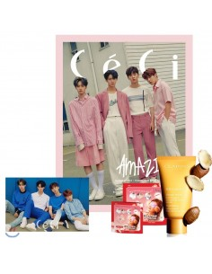 Magazine CeCi 2018-6 Wanna One Type.B + Poster