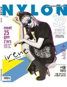 Magazine Nylon Korea 2018-6 Irene With Pre-Order Beneftis