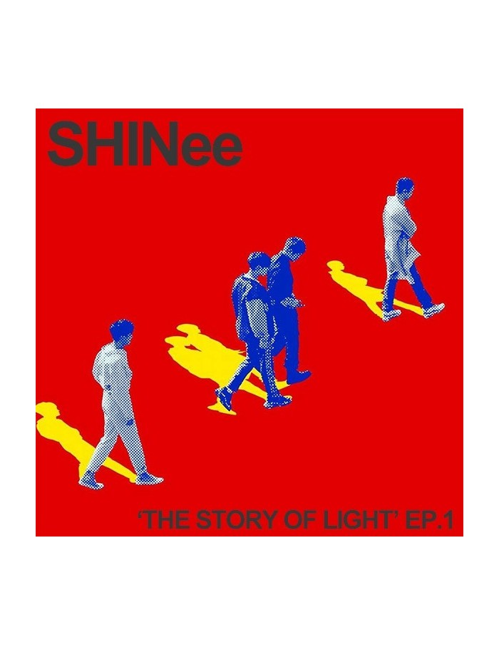 SHINEE 6th Album - The Story Of Light EP 1 CD + Poster