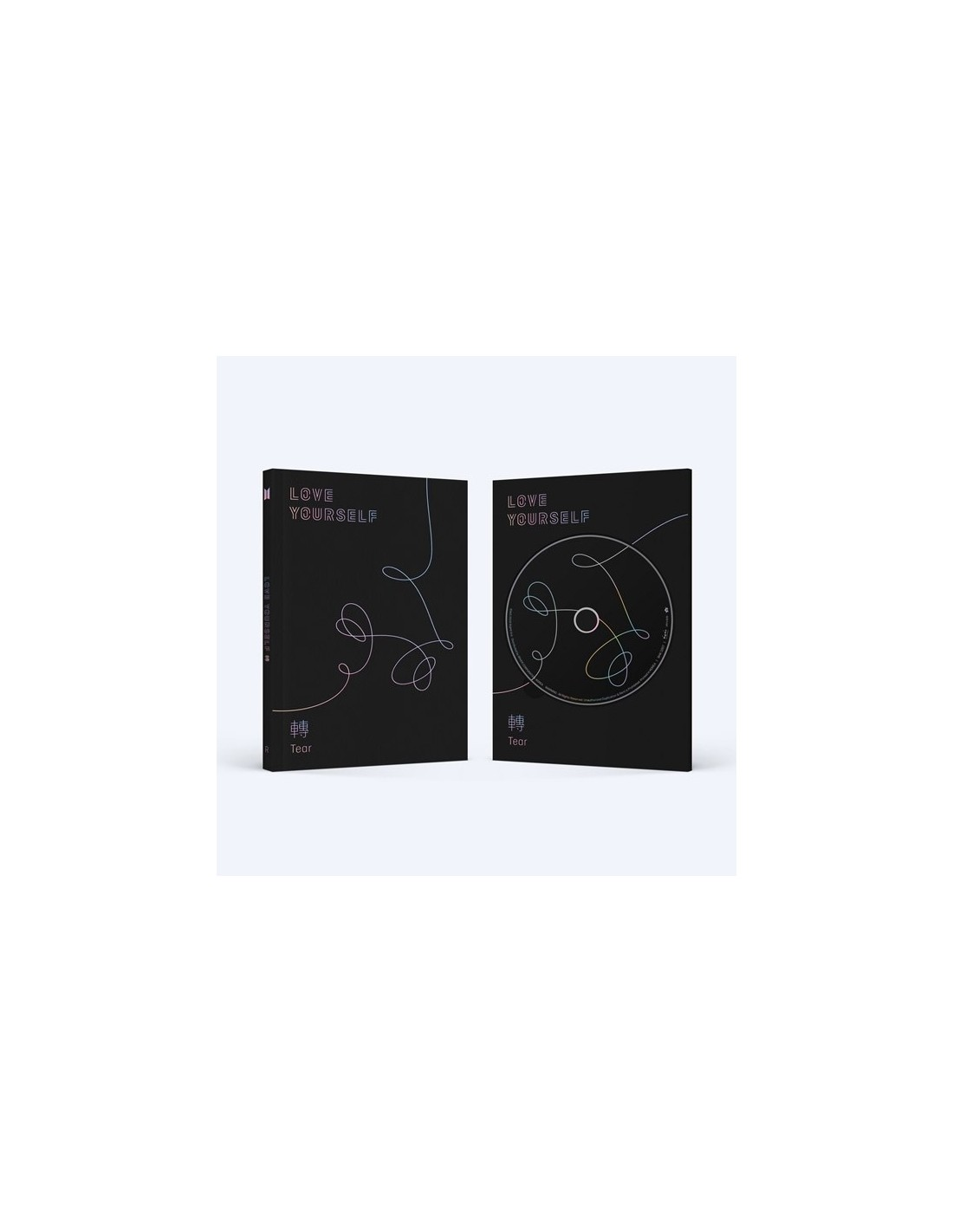 Bts 3rd Album Vol 3 Love Yourself 轉 Tear Cd Poster