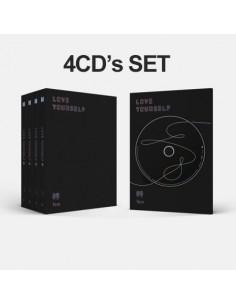 [SET] BTS 3rd Album vol 3 LOVE YOURSELF 轉 'Tear'4 CDs +4 Posters (Y.O.U.R all)