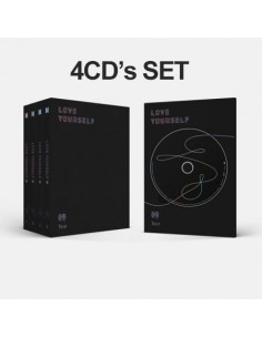 [SET] BTS 3rd Album vol 3 LOVE YOURSELF 轉 'Tear'4 CDs +4 Posters (Y.O.U.R all)
