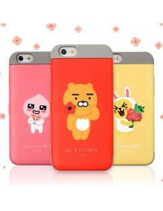 [ KAKAO FRIENDS ] KAKAO Flower Slide Card Bumper Case For iPhone