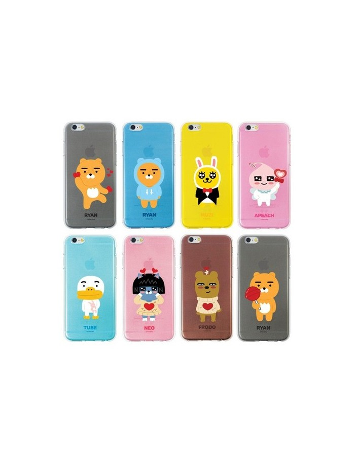 [ KAKAO FRIENDS ] KAKAO Avata Jelly Case For iPhone