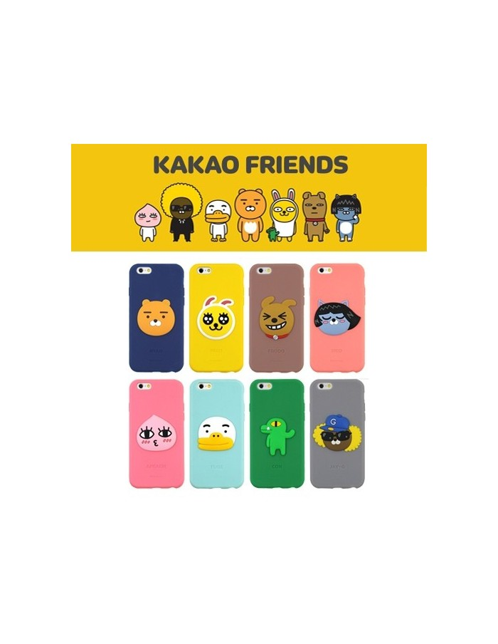 [ KAKAO FRIENDS ] KAKAO Slide Card Bumper Case For iPhone