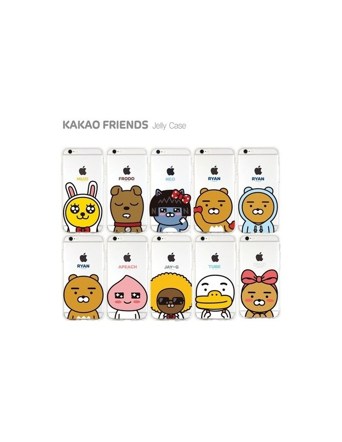 [ KAKAO FRIENDS ] KAKAO Silicon Case For iPhone