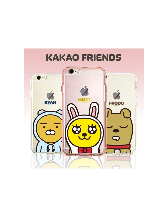 [ KAKAO FRIENDS ] KAKAO Cutie Jelly Case For iPhone
