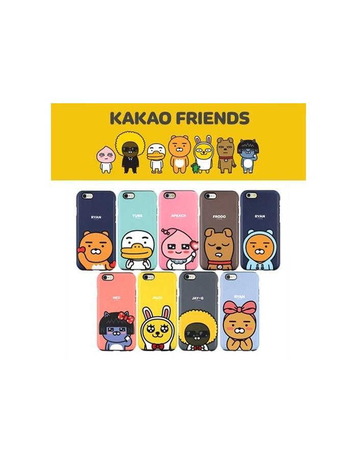 [ KAKAO FRIENDS ] KAKAO Cutie Double Bumper Case For iPhone